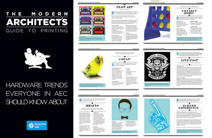 Brochure Modern Architects Guide to Printing Handbook