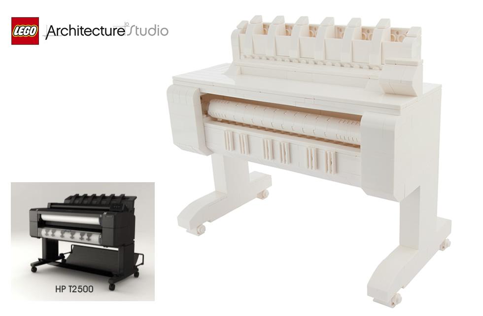 Creative Lego HP T2500