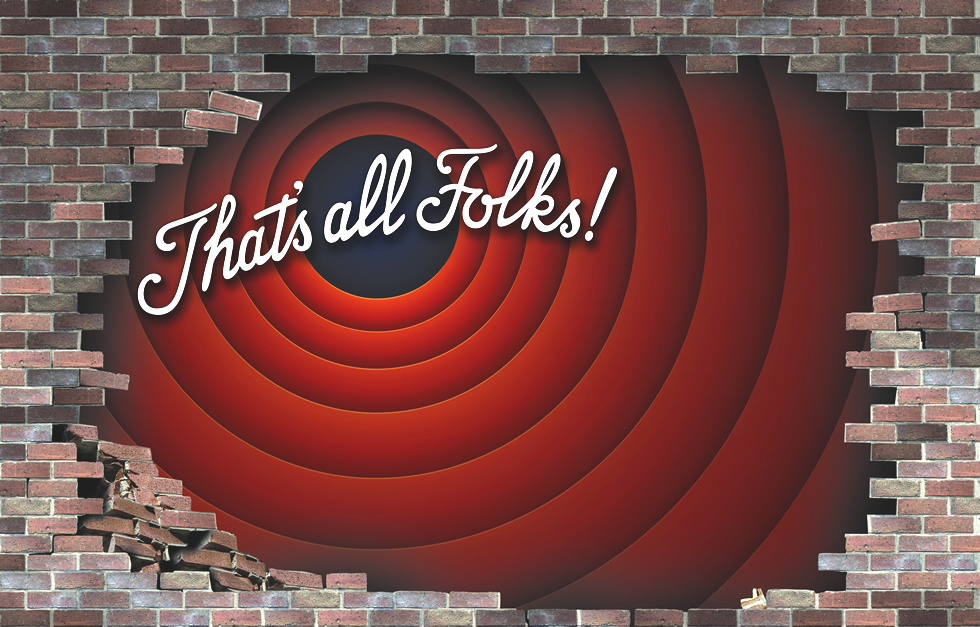 Creative Looney Tunes Wall Wrap