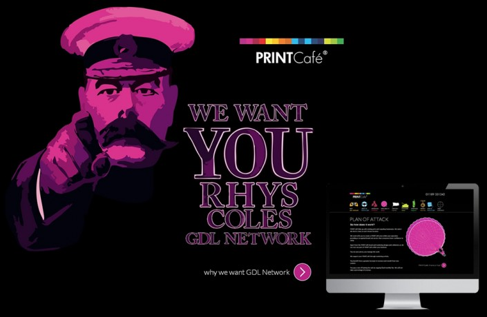 We Want You Cross Media campaign