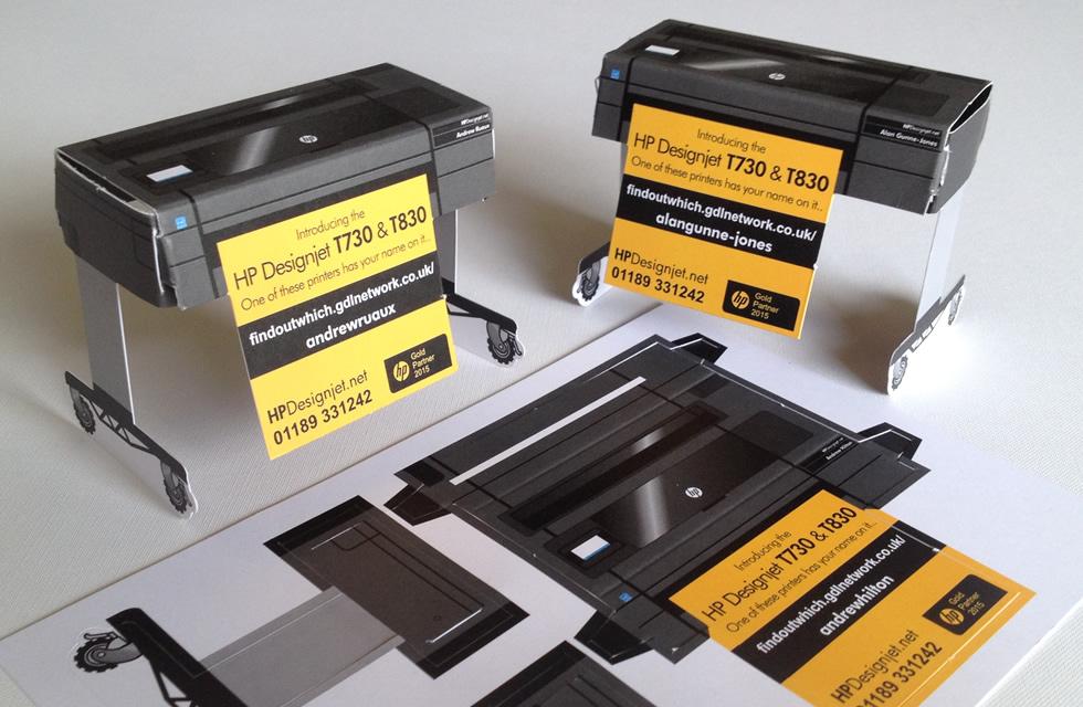 Crossmedia HP T730 / T830 Promo