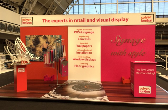 Exhibition Colyer Stand