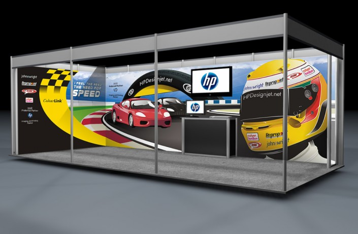 Donnington Exhibition Stand