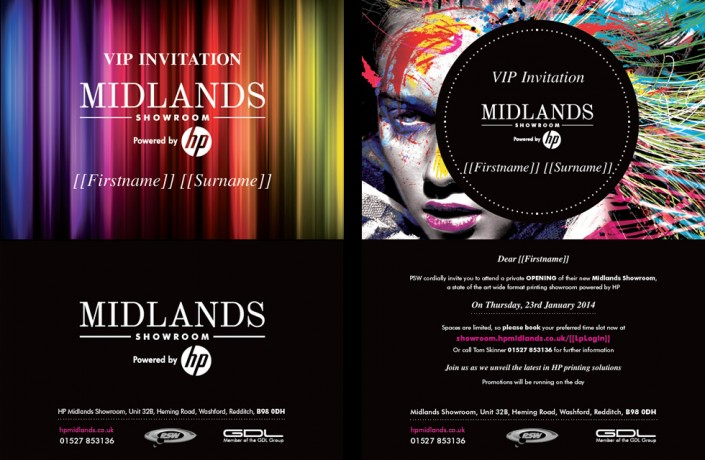 Invitation to HP Midlands