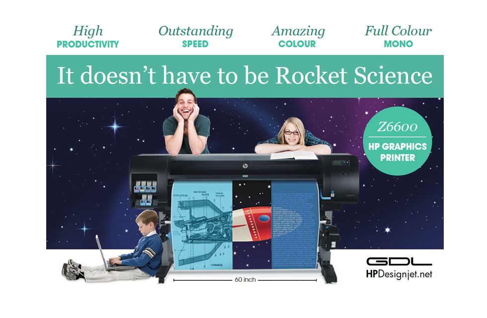 Postcard Rocket Science