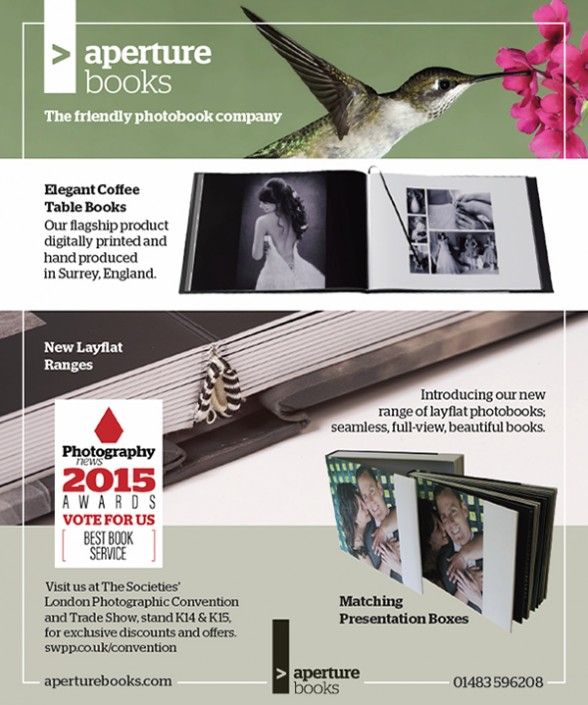 Aperture Books Press Ad