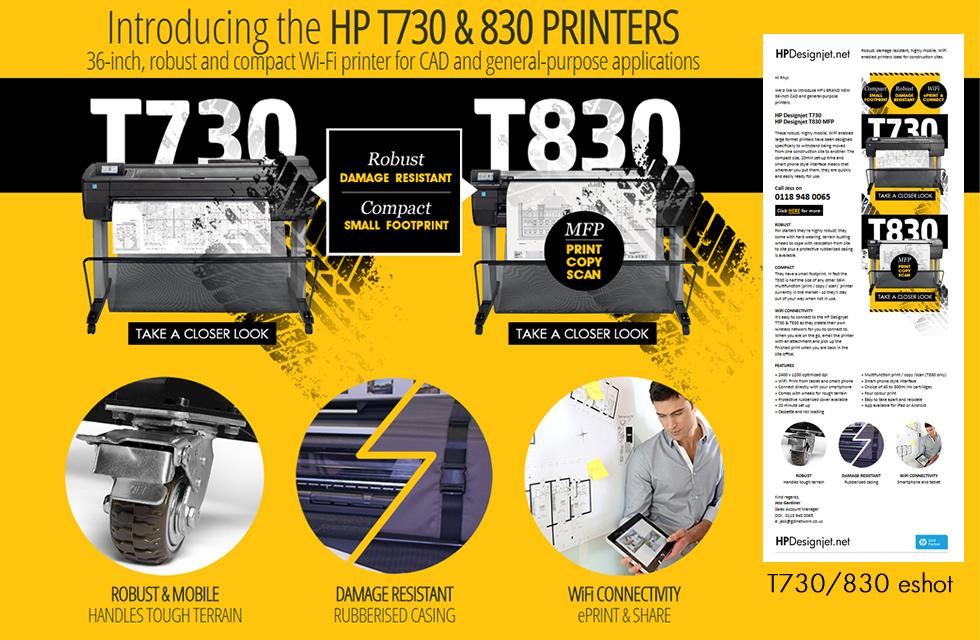 Web Updates T730 T830